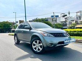 Nissan Murano nhập 2008 màu xám xanh, zin full đủ đồ chơi cao cấp, không thiếu món nào, hai cầu, nội thất kem, nệm da cao cấp