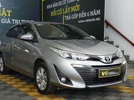 Cần bán gấp Toyota Vios năm 2019, màu xám