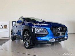 Cần bán xe Hyundai Kona năm sản xuất 2021, màu xanh lam - ưu đãi 40 triệu
