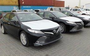 Toyota Camry 2019 cập cảng Việt Nam chờ ngày ra mắt