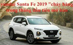 """Hyundai Santa Fe 2019 vẫn """"cháy hàng"""" sau 1 tháng ra mắt dù bị bán """"bia kèm lạc"""""""