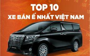 Tháng 'vàng' mua ô tô, nhưng đây là Top xe bán ế tại Việt Nam tháng 1/2019