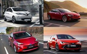8 mẫu xe thân thiện với môi trường được đánh giá cao hiện nay