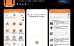 Tra cứu mức phạt vi phạm giao thông dễ dàng bằng ứng dụng trên smartphone