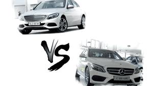 Chọn mua xe ô tô Mercedes-Benz C250 Exclusive và C300 AMG: Cuộc đấu nội bộ!