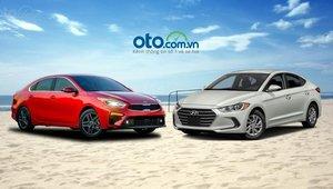So sánh Kia Cerato 2019 và Hyundai Elantra 2019: 'Đại chiến' xe Hàn Quốc