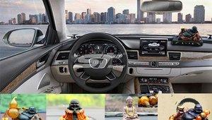 Đồ trang trí phong thủy nào trong ô tô đem lại vượng khí cho chủ nhân?