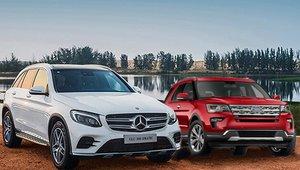 So sánh xe Ford Explorer 2019 và Mercedes GLC-Class 2019: 2,2 tỷ mua xe nào cho phải?