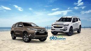 So sánh Mitsubishi Pajero Sport 2019 và Chevrolet Trailblazer 2019