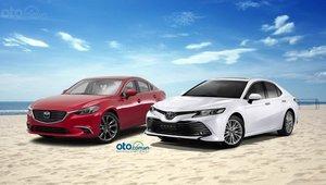 So sánh Toyota Camry 2.0G 2019 và Mazda 6 FL Premium 2.5L 2019 với cùng mức giá xấp xỉ một tỷ đồng