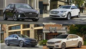 10 mẫu sedan rộng rãi nhất trong năm 2019