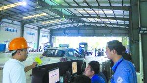Nhì nhằng việc chặn đăng kiểm xe ô tô chưa nộp phạt nguội