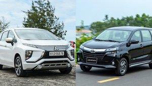 So sánh xe Mitsubishi Xpander 2019 với Toyota Avanza 2019: Cuộc chiến không cân sức với Avanza