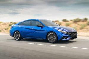 Hyundai Elantra N Line 2021 đề giá 624 triệu đồng tại Mỹ