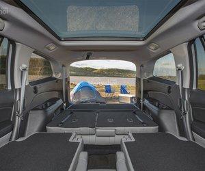Đánh giá xe Honda Pilot 2018: Khoang chứa đồ càng lớn khi gập hàng ghế 2/3 a2