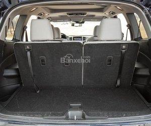 Đánh giá xe Honda Pilot 2018: Khoang chứa đồ càng lớn khi gập hàng ghế 2/3 a1