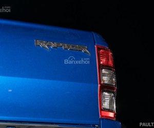 Dải đèn sau của Ford Ranger Raptor 2019 2