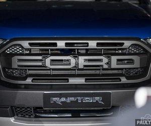 Lưới tản nhiệt hầm hố của Ford Ranger Raptor 2019 2