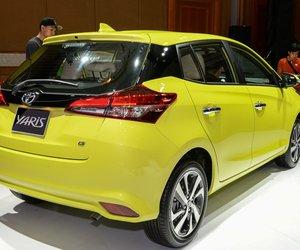 Đánh giá xe Toyota Yaris G 2019 về thiết kế đuôi xe..