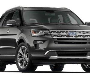 Đánh giá xe Ford Explorer 2019: Màu ngoại thất ghi.
