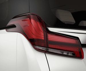 Đánh giá xe Toyota Alphard Luxury 2019: Cụm đèn hậu lấy cảm hứng thác nước 1