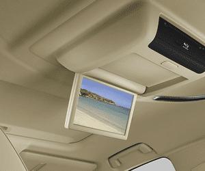 Đánh giá xe Toyota Alphard Luxury 2019: Màn hình giải trí dành cho người ngồi phía sau 1