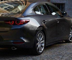Đánh giá xe Mazda 3 2019: Đuôi xe.