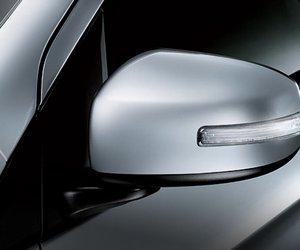 Đánh giá xe Mitsubishi Mirage 2019 CVT: Gương chiếu hậu tích hợp đèn báo rẽ1