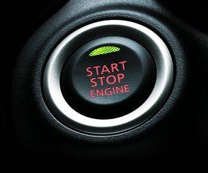 Đánh giá xe Mitsubishi Mirage 2019 CVT: Nút bấm khởi động OSS (One-touch Starting System) 1