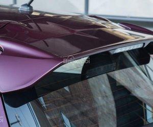 Đánh giá xe Mitsubishi Mirage 2019 CVT: Cánh lướt gió đuôi xe 1