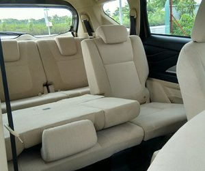Ảnh chụp hàng ghế thứ 3 xe Mitsubishi Xpander 2018