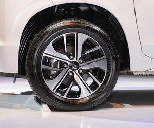 Ảnh chụp vành xe Mitsubishi Xpander 2018