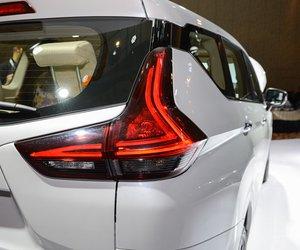 Ảnh đèn hậu xe Mitsubishi Xpander 2018 màu trắng