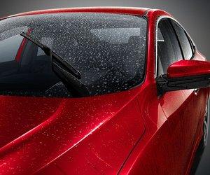 Đánh giá xe Honda Civic 1.5 RS 2019 về thiết kế đầu xe: kính chắn gió.