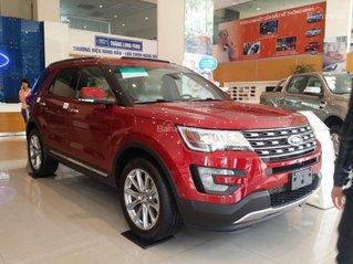 Báo giá Ford Explorer Limited 2020, tặng bậc điện, BHTV, giao ngay, trả góp 90%, lãi suất thấp