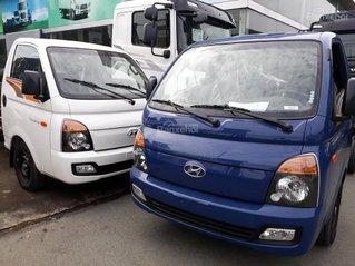 Bán Hyundai Porter mui bạt inox, tải 1.5 tấn, đời 2020, màu xanh lam, nhập khẩu
