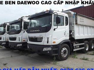 Bán xe BEN 15 tấn Daewoo nhập khẩu Hàn Quốc - giá tốt nhất - xe giao ngay