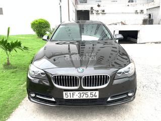 Bán BMW 520i model 2016 màu nâu, xe mua mới