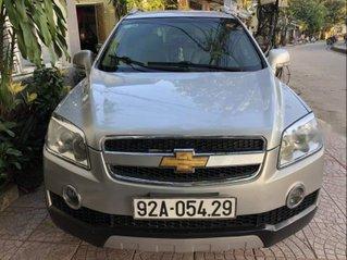 Cần bán Chevrolet Captiva đời 2007, màu bạc còn mới