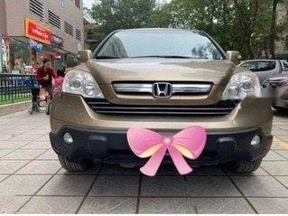 Bán Honda CR V 2.4 AT đời 2010, màu nâu còn mới, giá tốt