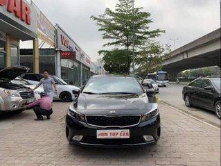 Cần bán lại xe Kia Cerato sản xuất năm 2017, màu đen còn mới