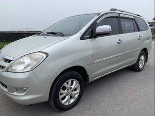 Cần bán gấp Toyota Innova năm sản xuất 2007, màu bạc còn mới