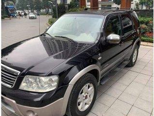 Cần bán xe Ford Escape đời 2006, màu đen còn mới, giá 215tr