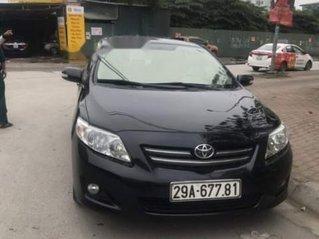 Bán Toyota Corolla Altis đời 2009, màu đen còn mới