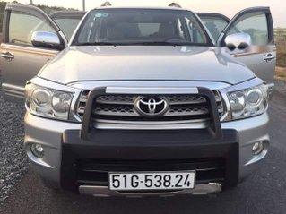 Cần bán lại xe Toyota Fortuner năm 2011, màu bạc