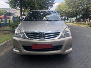 Bán ô tô Toyota Innova đời 2010, màu vàng còn mới