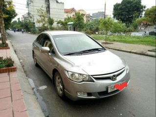 Cần bán gấp Honda Civic đời 2008, màu bạc còn mới, giá chỉ 355 triệu