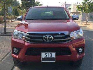 Xe Toyota Hilux đời 2016, màu đỏ, xe nhập còn mới, giá 580tr