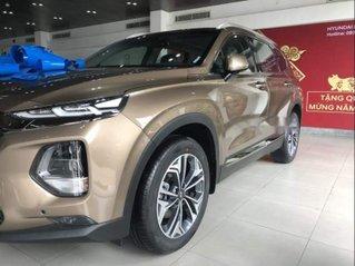 Bán xe Hyundai Santa Fe dầu tiêu chuẩn năm 2019, xe giá thấp, giao nhanh toàn quốc