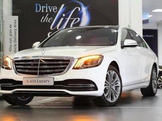 Giá xe Mercedes-Benz S450 Luxury mới nhất 2021, vay trả góp lãi suất 0.65%/tháng cố định 3 năm, xe giao ngay